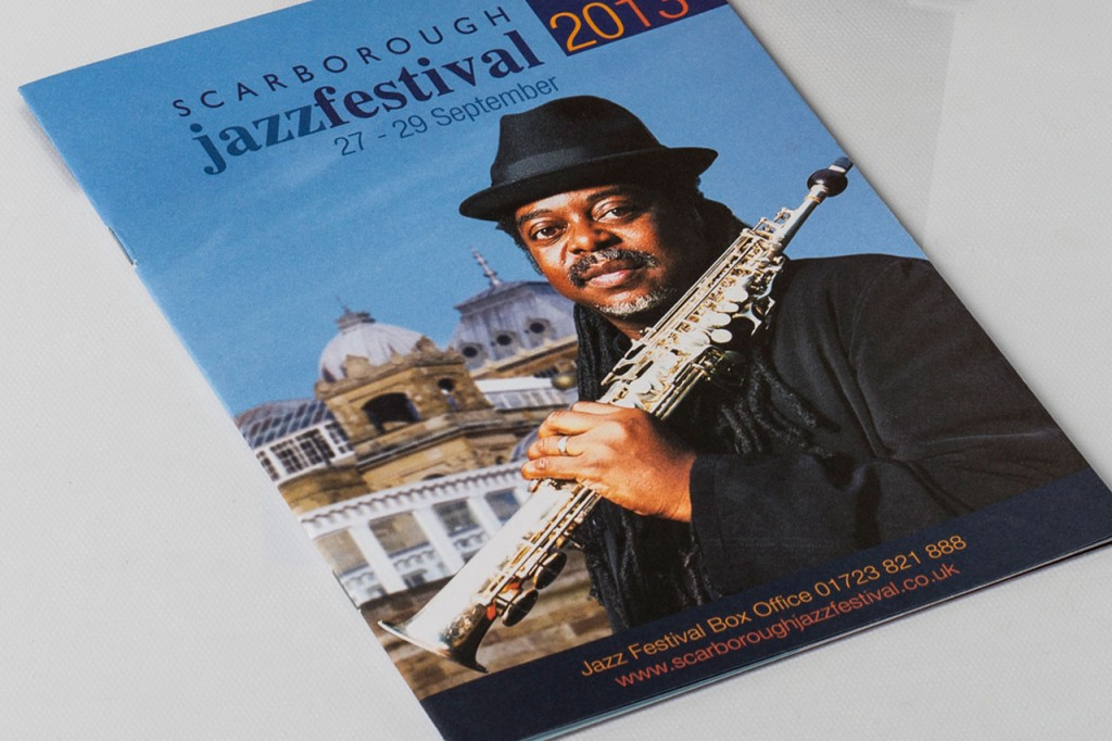 Scarborough Jazz Festival graphic design