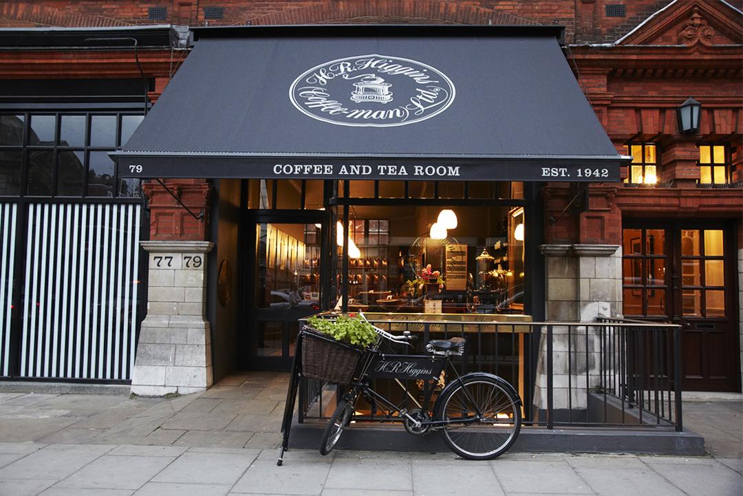 HR Higgins coffee retail - Mayfair London